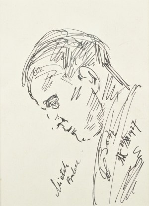 Wlastimil Hofman (1881-1970), Portret Mieczysława Balcera (1927)