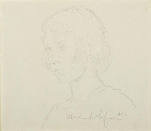 Wlastimil Hofman (1881-1970), Portret młodego chłopca (1924)
