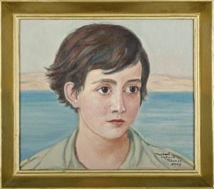 Wlastimil Hofman (1881-1970), Portret chłopca (1943)