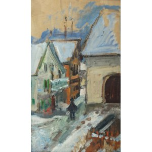 Zygmunt SCHRETER (1896-1977), Celerina zimą