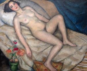 Jerzy Winiarz (1894 Warszawa – 1928 Jastarnia), Akt, 1925