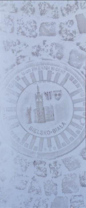 Piotr C. Kowalski (ur. 1951), Bielsko - Biała, z cyklu Obrazy przejściowe - Obrazy przejezdne, 2019