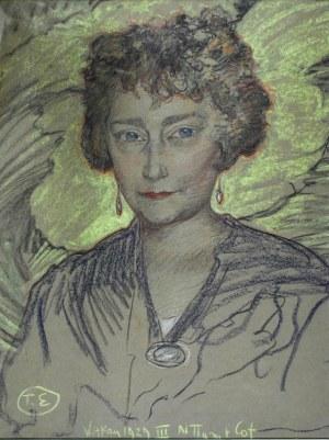 Stanisław Ignacy Witkiewicz WITKACY (1885-1939), Portret Ady Propper, 1929