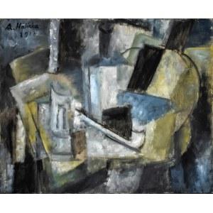 Alicja HALICKA (1889-1974), Martwa natura kubistyczna, 1917