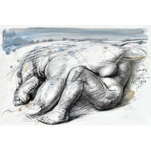 Franciszek STAROWIEYSKI (1930 - 2009), Śnieg, 1993