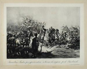 Juliusz KOSSAK (1824-1899), Stanisław Fredro przyprowadza własną chorągiew pod Smoleńsk