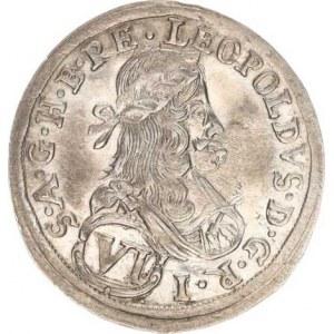 Leopold I. (1657-1705), VI kr. 1683 I A N, Štýrsko,Graz-Nowak - typ oboustr. bez vnitřníc