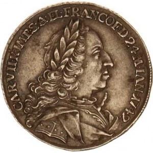 Karel VII. (1742-1745), Velký žeton na volbu za římského císaře 24.1.1742 ve Frankfurtu,