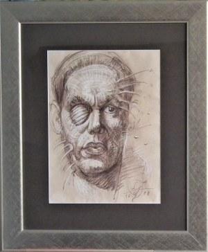 Franciszek Starowieyski (1930-2009) , Autoportret