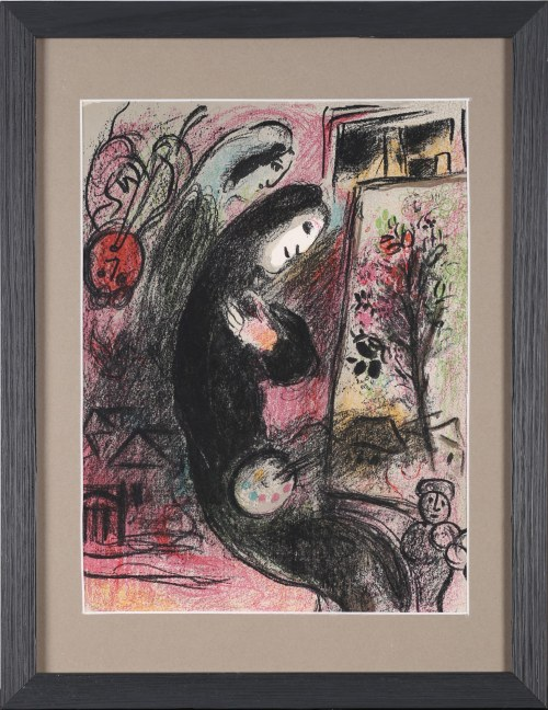 Marc Chagall, Inspired L'Inspiré, 1963