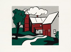 Roy Lichtenstein, Red Barn, 1969
