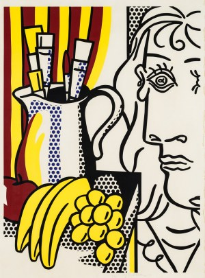 Roy Lichtenstein, Still life with Picasso, 1973