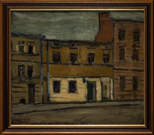 Jerzy Nowosielski, Ulica Karmelicka w Krakowie, 1945