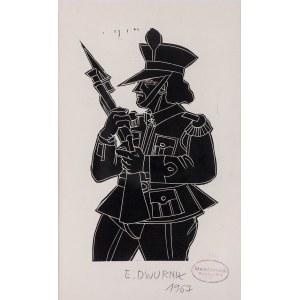 Edward Dwurnik, Żołnierz, 1967