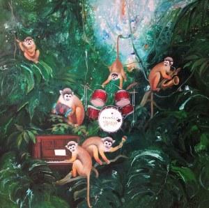 Patrycja Kruszyńska-Mikulska, Monkey Band, 2021