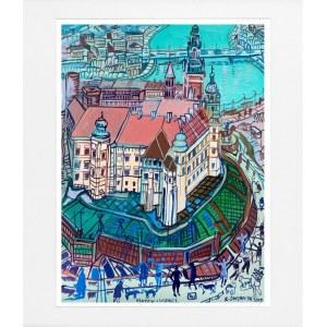 Edward Dwurnik, Kraków Wawel