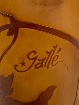 Gallè, wazon