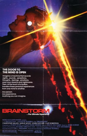 Plakat do filmu BRAINSTORM, 1983