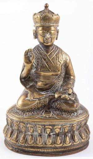 BUDDA SIAKJAMUNI, Tybet, XIX/XX w.