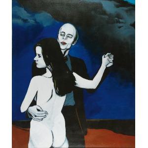 Antoni FAŁAT (ur. 1942), Miłość II, 1985