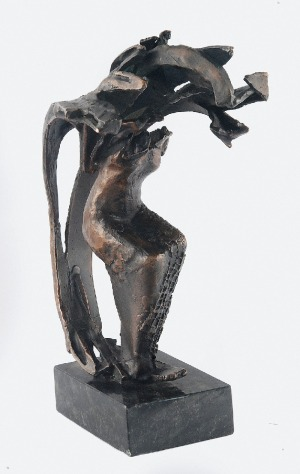 Krystyna NOWAKOWSKA (ur. 1953), Anioł spokoju, 2001