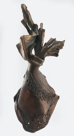 Krystyna NOWAKOWSKA (ur. 1953), Anioł wiosny, 2000