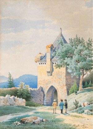 Julian Cegliński (1827-1910), Miłośnicy starożytności, 1896
