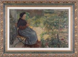 Hugo Walzer (1884-1923), Odpoczynek w ogrodzie, 1910
