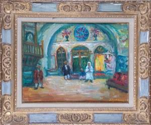 Jacques Zucker (Jakub Cukier) (1900-1981), Synagoga w Safed, 1950