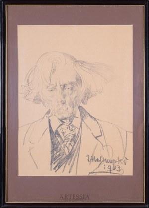Jacek Malczewski (1854-1929), Portret Stanisława Bryniarskiego, 1903