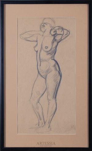 Wlastimil Hofman (1881-1970), Akt kobiecy, 1 ćw. XX w.