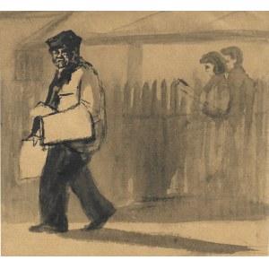 Zofia Dębowska-Tarasin, Ilustracja do opowiadania Franciszka Gila