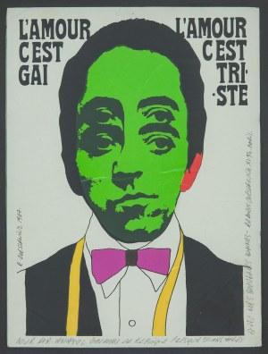 Roman CIEŚLEWICZ (1930-1996) – projektant, Miłość jest radosna, miłość jest smutna, 1967