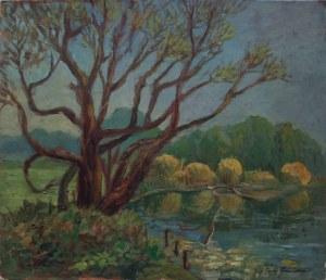 Jerzy Gnatowski (1929-2012), Drzewa nad stawem