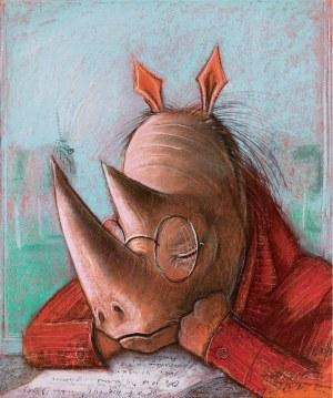 Józef Wilkoń, Blues Nosorożca
