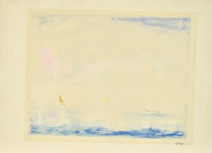 Wojciech WEISS (1875-1950), Poranek – Morze Śródziemne, ok. 1930