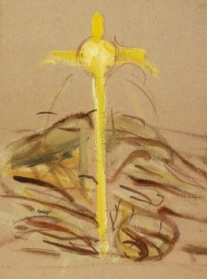 Wojciech WEISS (1875-1950), Studium do obrazu: Promienny zachód słońca, 1900