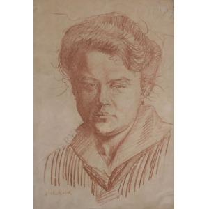 Antoni Michalak (1899-1975), Portret kobiety