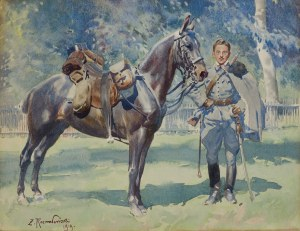Rozwadowski Zygmunt, UŁAN Z KONIEM, 1919
