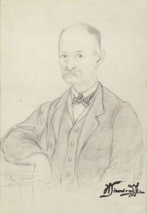 Siemiradzki Henryk, PORTRET MĘSKI, LATA 70. XIX W.