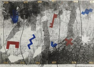 Brygida WRÓBEL-KULIK (ur. 1952), Kompozycja, 1991