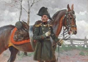 Zygmunt ROZWADOWSKI (1870-1950), Oficer Artylerii Konnej Księstwa Warszawskiego