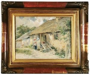 Zdzisław JASIŃSKI (1863-1932), Przed chatą
