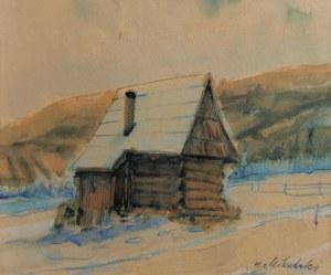 Hubert MIKULSKI, XX w., Chata w górach