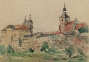 Tadeusz CIEŚLEWSKI - ojciec (1870-1956), Widoki na Piotrków Trybunalski
