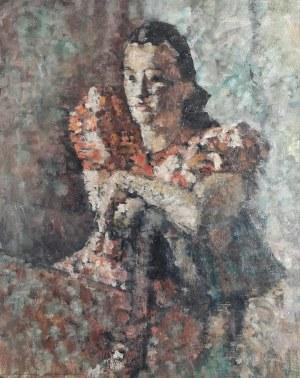 Tadeusz CYBULSKI (1878-1954), Portret aktorki