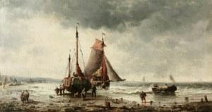 Jules CLERSON (1876-?), Statki przy plaży
