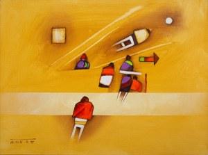 Witold Kaczanowski / Witold - K (ur. 1932, Warszawa), z cyklu People, 1975