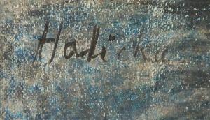 Alicja HALICKA (1894-1975), Syreny z Fontanny Mórz na placu Zgody w Paryżu