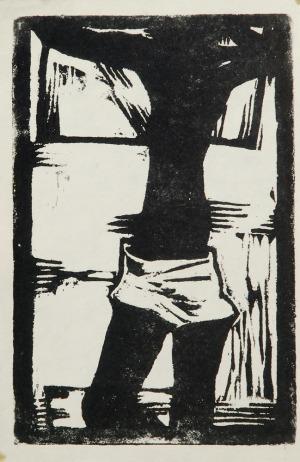 Jerzy NOWOSIELSKI (1923-2011), Akt, 1960